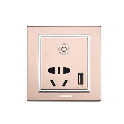 智能墙面插座